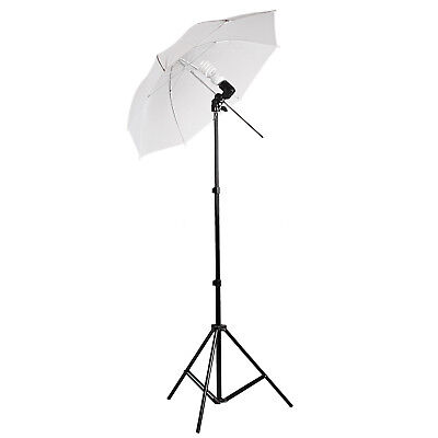 135W Photo Studio Photography Video Continuous Lamp Light Soft Umbrella Kit
