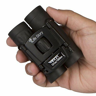 8X21 Small Compact Lightweight Binoculars For Concert Theater Opera Mini Pocket
