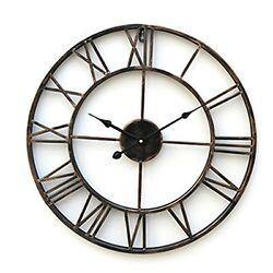 NEW Fashion Big Large Wall Clock 20 Inch Oversized Iron Quartz Antiqued Clock