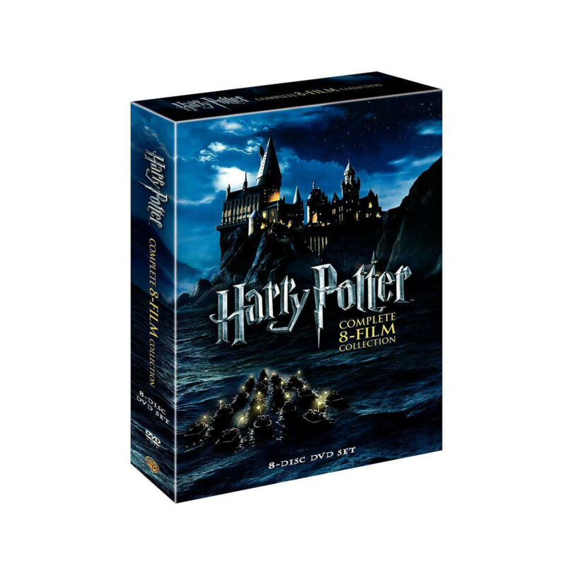 Harry Potter: The Complete 8-Film Collection Box Set Ship From US