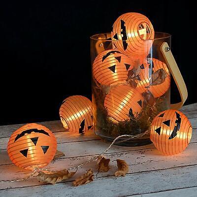 pion Lichterkette 20 LED's Außen und Innen mit Timerfunktion (Orange Lampions)