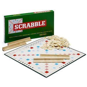 NEU/OVP Scrabble Jubiläumsspiel Holzsteine Gesellschaftsspiel Piatnik 55011