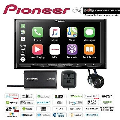 Pioneer AVH-W4500NEX DVD Receiver HD Radio Backup Camera & S