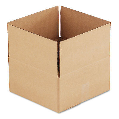 General Supply Brown Corrugated - Fixed-depth Shipping Boxes 12l X 12w X 6h 25