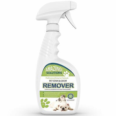 Pet Stain Odor Cleaner Carpet Professional Remover Dog Cat Urine Feces Vomit