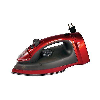 Impress IM-37R 1200W Red/Black Cord-Winder Steam/Mist Self-Cleaning Clothes Iron