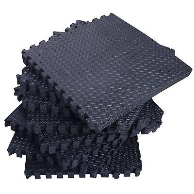 New 18 Tiles 72 Sq Ft EVA Foam Floor Mat Interlocking Floori