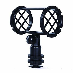 Movo-SMM1-Camera-Video-Shock-Mount-for-Shotgun-Microphones-19-25mm-in-Diameter