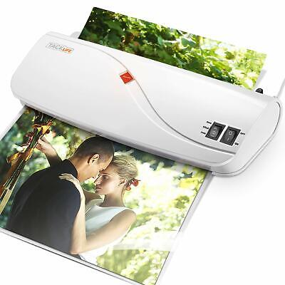Thermal Laminator Hot Cold Laminating Machine With Two Heat Settings Abs But