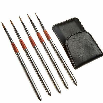 5pcs Artist Paint Brushes for Acrylic Watercolor Oil Painting, Pocket size - Watercolor Pocket