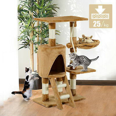 PawHut Cat Tree Condo Furniture Scratching Post Climbing Tower Scratch Activity