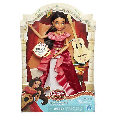 Disney Princess My Time Singing Elena Of Avalor Doll   New