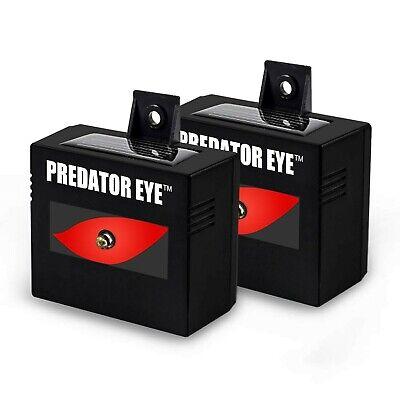 ASPECTEK Predator Eye Night Time Solar Powered Animal Repeller, Waterproof, A...