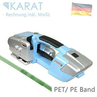Akku Umreifungsmaschine Elektrische Umreifungsgerät für PP PET Band bis 16 mm