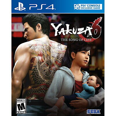 Yakuza 6: The Song of Life PS4 [Factory Refurbished]