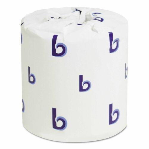 Boardwalk 6145 Bathroom Tissue Standard 2ply White 4x3 Sheet 500 Sheets,96 Rolls