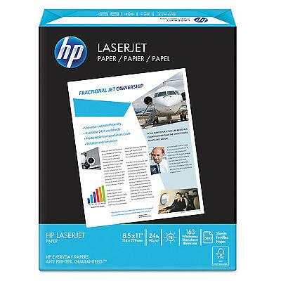 Hp LaserJet Paper 98 Brightness 24lb 8-1/2 x 11 Ultra White 500 Sheets/Ream