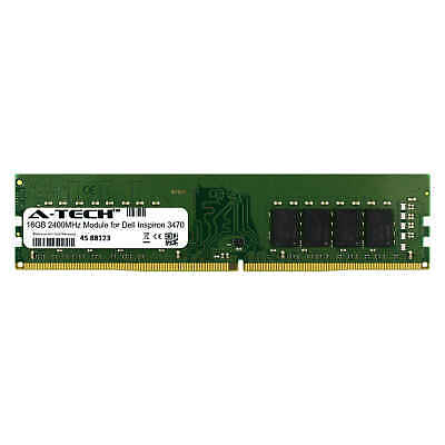 A-Tech 16GB 2400MHz DDR4 RAM for Dell Inspiron 3470 Desktop Memory Upgrade ()