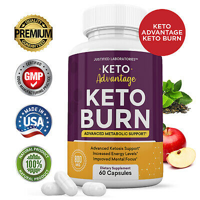 Keto Advantage Keto Burn Pills Weight Loss Diet goBHB Ketogenic Supplement