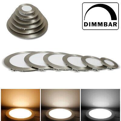 LED Panel Leuchte Dimmbar 230V Einbaustrahler Einbauspot Deckenleuchte DHL ()