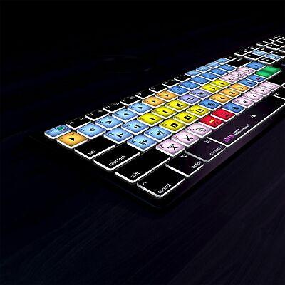 Avid Media Composer Backlit Shortcut Keyboard by Editors Keys for Mac & PC NEW Media Composer Key