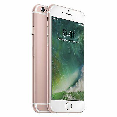 Apple iPhone 6S 16GB Rose Gold (GSM Unlocked) Smartphone -...