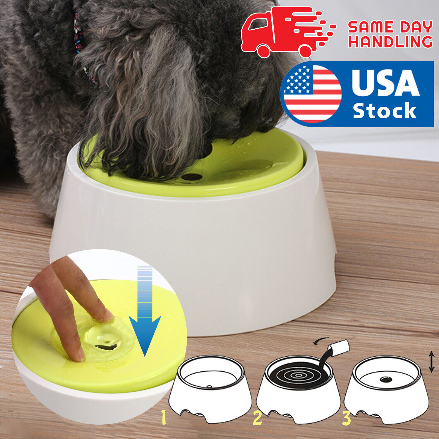 Pet Dog Not Wet Mouth water dispenser Cat dog  water Drinking  bottle 40 oz Dishes, Feeders & Fountains