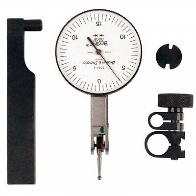 Brown Sharpe 599-7031-3 Bestest Dial Test Indicator .030 Range .0005 Gradu