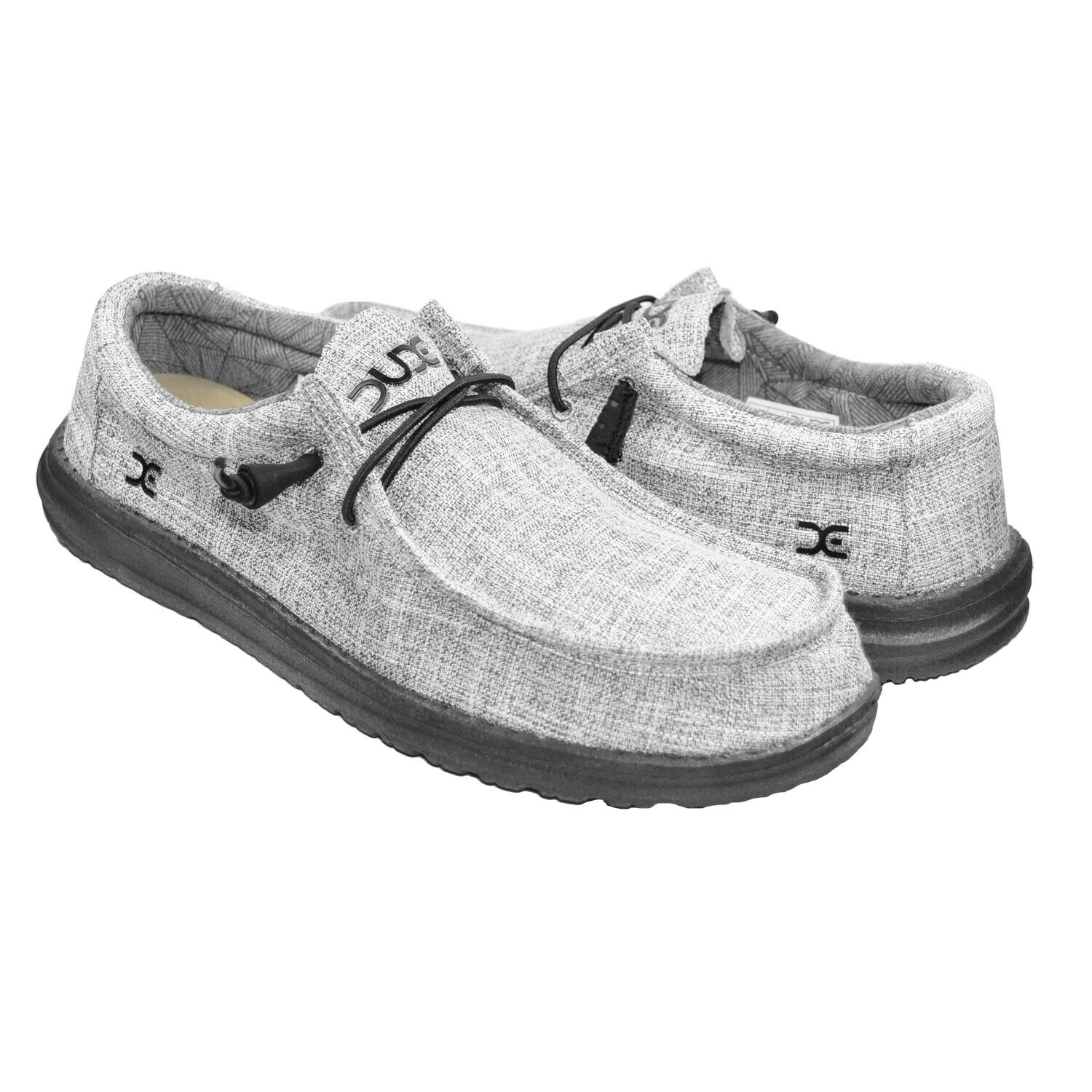 HEY DUDE Wally V Linen Men | Iron (111723901)