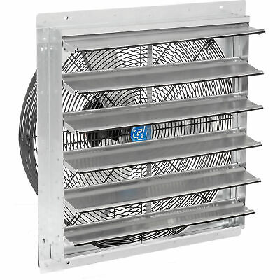 Direct Drive Exhaust Ventilation Fan With Shutter 24 2-speed With Hardware