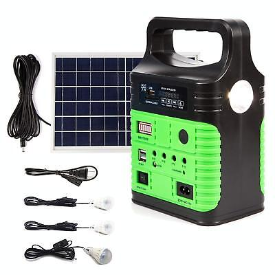 Solar Electric Panels - New Portable Solar Generator Solar Panel Solar Power Inverter Electric Generator
