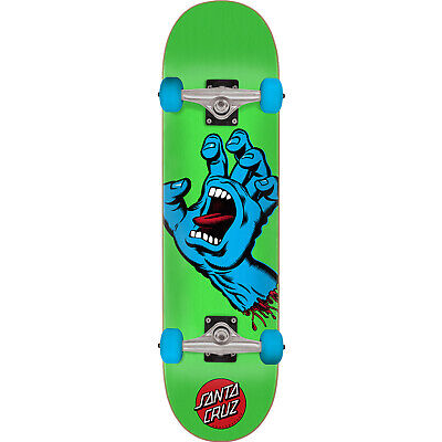 "Santa Cruz Skateboards Screaming Hand Mid Complete Skateboards - 7.5"" x 30.6"""