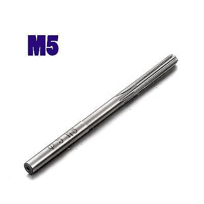 1x Metric H8 M5 Cutting Dia 5mm 6 Flutes Hcs Hand Reamer Milling Cutter Model