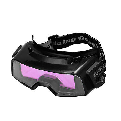 Auto Darkening Welding Goggles For Tig Mig Mma Professional Weld Glasses R2o7