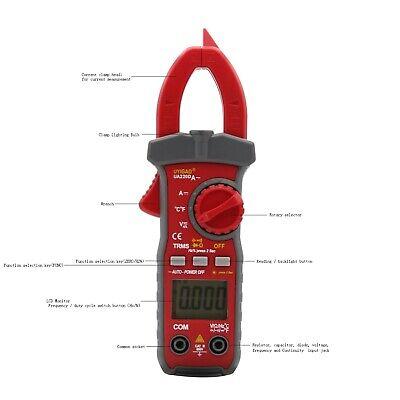 Ua220d Mini Lcd Digital Clamp Multimeter 1999 Acdc Voltage Ac Ampere Meter Hot