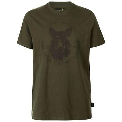 Seeland Flint T-Shirt Jagd Herren Shirt Wildschwein Print Jagen/Freizeit/Outdoor