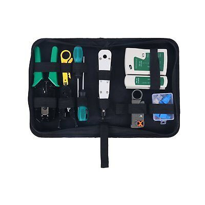 (13PC Network Tools Net Computer Maintenance Phone LAN Cable Tester Repair Tools)