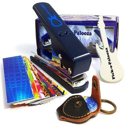 Pick-a-Palooza DIY Guitar Pick Punch Mega Gift Pack - the Premium Pick Maker - Diy Guitar Pick