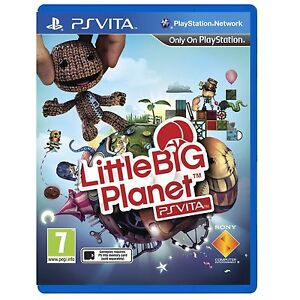 Little Big Planet PS Vita For PAL PS Vita (New & Sealed)