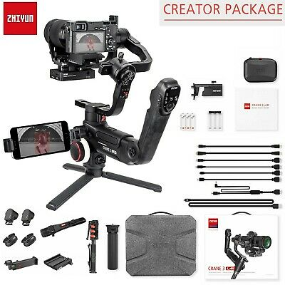 Zhiyun Crane 3 LAB 3-Axis Handheld Gimbal Stabilizer for DSLR Mirrorless Camera