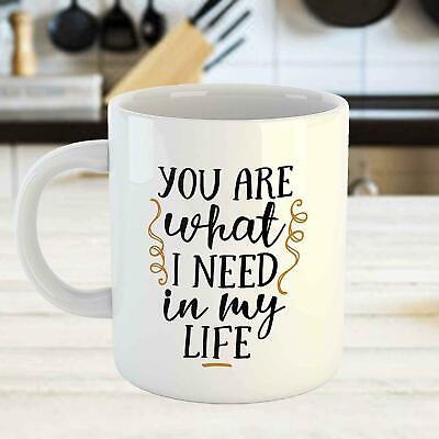 Liebes-Zitate Sie sind, was ich in meiner Leben-lustigen Kaffeetasse-Tee-Tasse