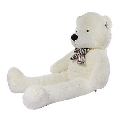"Joyfay®  63"" 160 cm 5 ft White Giant Teddy Bear Huge Stuffed Toy Valentine Gift"