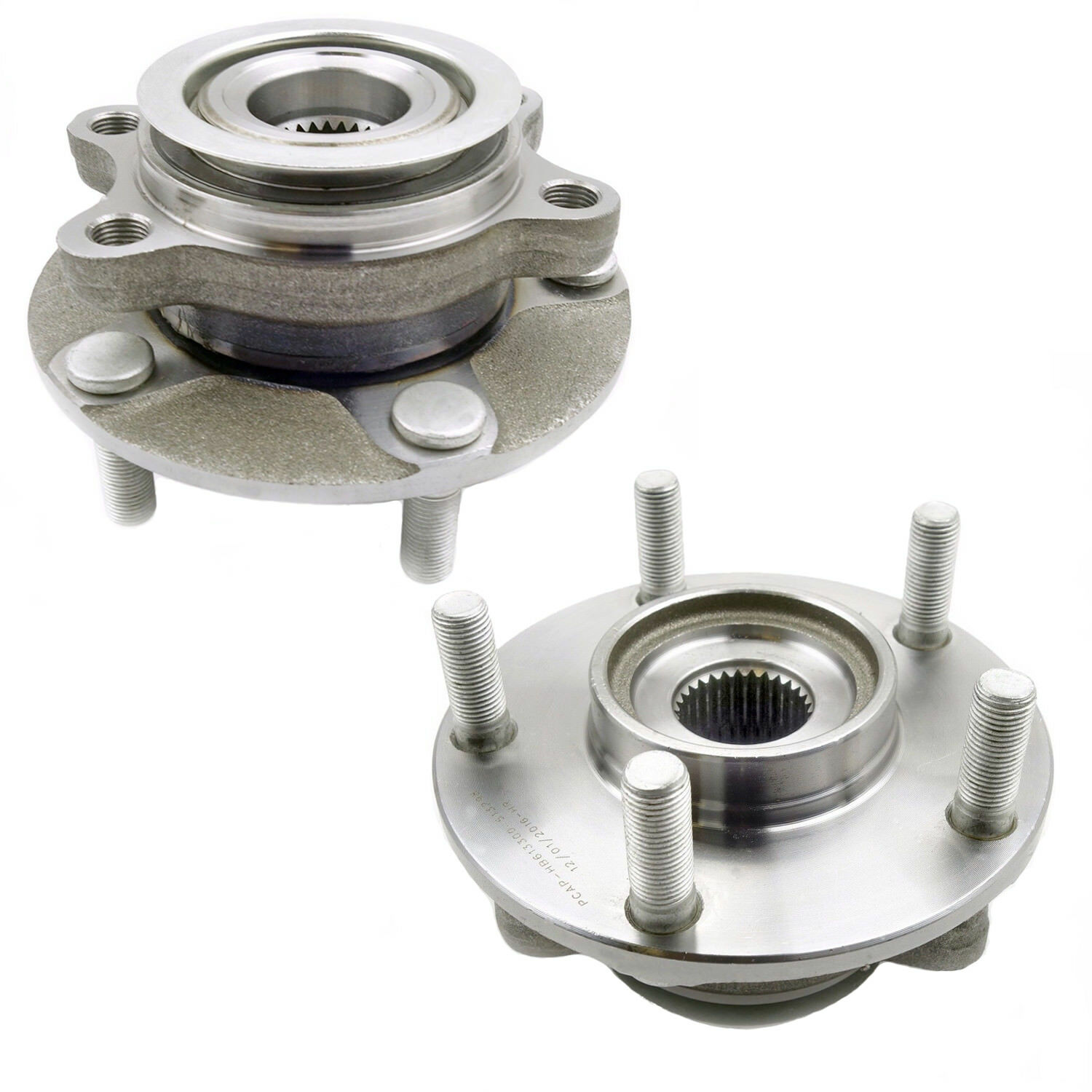 2 Front New Wheel Hub Bearing Assembly Pair/Set for Nissan ...