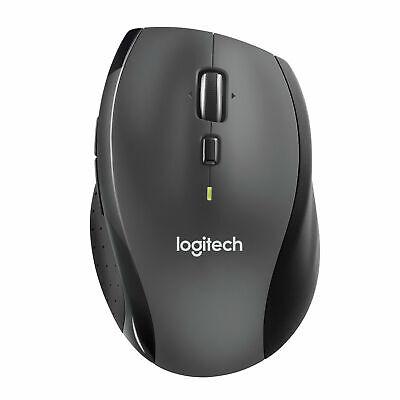 Logitech M705 Maus Marathon Schwarz Mouse Kabellos Funk Wireless Laser Kabellose