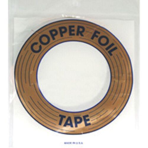 Edco 3//16 Inch Silver Back Copper Foil 36 Yards