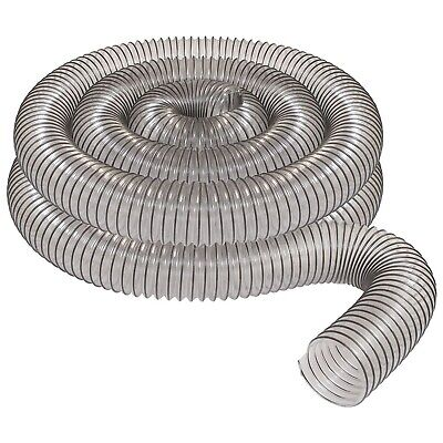 Clear Pvc Dust Collection Hose Peachtree Woodworking 4x20 Pw376 Fulton