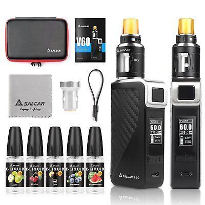 V60 E Zigarette/ E Shisha Starterset V60 Mod Kit 2200mah Akku +2.0ml Verdampfer