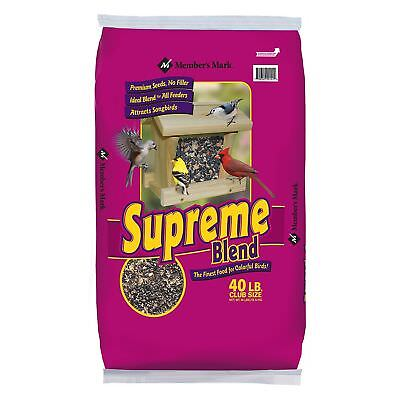 Member's Mark Supreme Blend Wild Bird Food, 40 lbs.