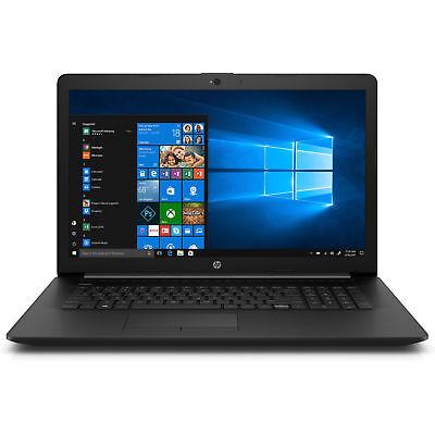 HP Notebook 17 Zoll HD+ AMD 4 Compute Core 4GB 1000GB Win10 / Office 2018 DVD RW 4 Gb Core