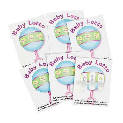 48 Baby Shower Party Game Ice Breaker BABY LOTTO PICKLE CARDS ~ - Icebreaker Cards